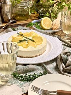 レアチーズケーキの写真・画像素材[4627461]
