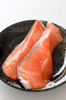 銀鮭 切身の写真・画像素材[2190580]