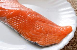 銀鮭 切身の写真・画像素材[2190595]