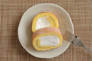 ロールケーキの写真・画像素材[2315411]