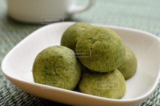 抹茶クッキーの写真・画像素材[2491241]