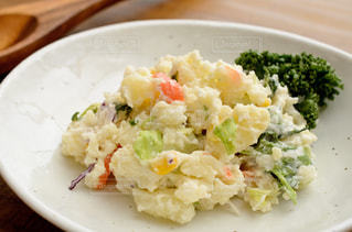 ポテトサラダの写真・画像素材[2553941]
