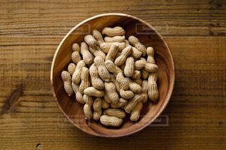 殻付きピーナッツの写真・画像素材[3047222]