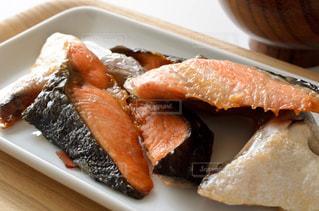 鮭のカマ焼きの写真・画像素材[3174331]