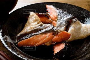 鮭のカマ焼きの写真・画像素材[3174337]