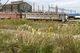 廃止になった機関車の写真・画像素材[2651050]