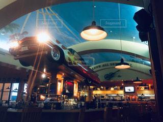 海外のクールなレストランの写真・画像素材[2206015]