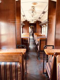 北ボルネオ鉄道の車内の写真・画像素材[2190435]