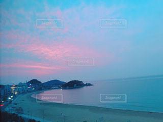 釜山の朝焼けの写真・画像素材[2226204]