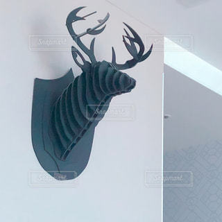 クラフトアートの鹿の写真・画像素材[2226205]