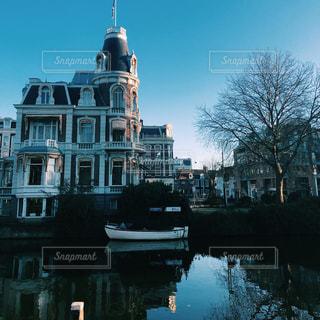 水の都アムステルダムの写真・画像素材[2191181]