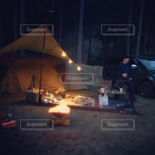 夜の灯りの写真・画像素材[2195823]