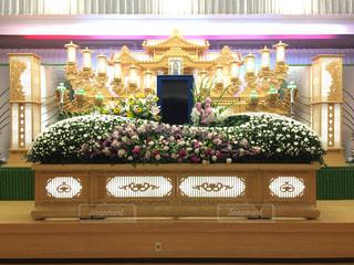 生花祭壇の写真・画像素材[2198695]
