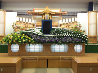 生花祭壇の写真・画像素材[2198698]