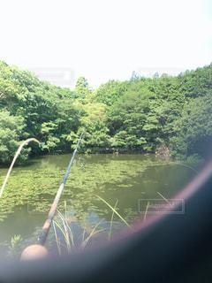 川のぼやけたイメージの写真・画像素材[2212666]