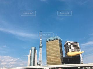 都会の高いビルの写真・画像素材[2197629]