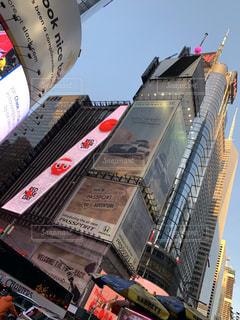 ニューヨークのビルの写真・画像素材[2200555]