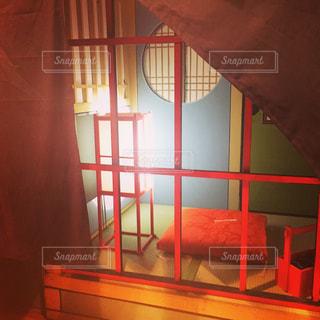 遊郭の一室を再現の写真・画像素材[2191812]
