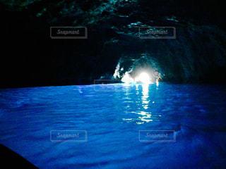 イタリア青の洞窟の写真・画像素材[2197505]