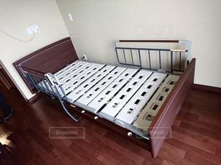 介護ベッドの写真・画像素材[2213320]