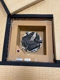 茶道の電熱器の写真・画像素材[3770913]
