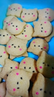 手作りクッキーの写真・画像素材[2194315]