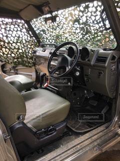 自衛隊の車の写真・画像素材[2289049]