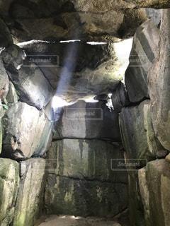 石舞台古墳内部の写真・画像素材[2194032]