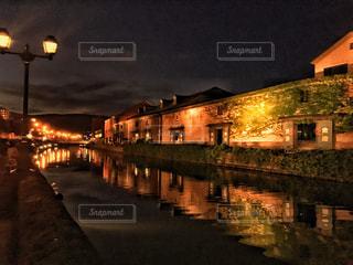 小樽運河の写真・画像素材[2595015]