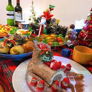クリスマスパーティーの写真・画像素材[2818759]