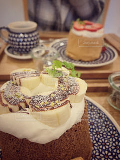 シフォンケーキの写真・画像素材[2880278]