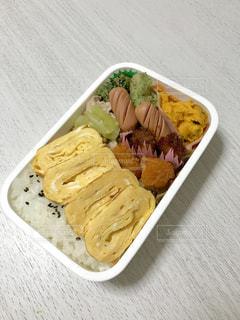 卵焼きのお弁当の写真・画像素材[2198926]
