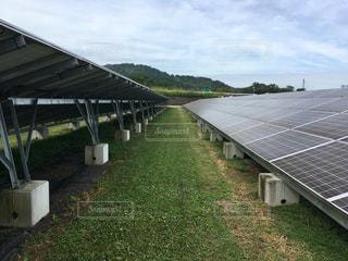 太陽光発電の写真・画像素材[2607911]