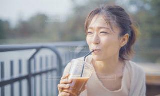 カフェでひと息☕️の写真・画像素材[2199548]