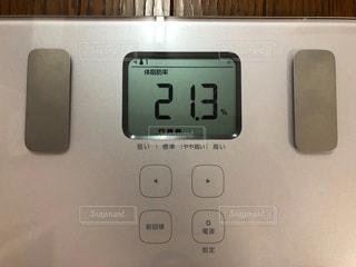体脂肪率21.3%の写真・画像素材[2249714]