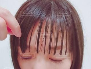 前髪の写真・画像素材[2298560]