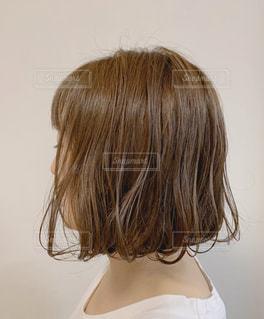 女性の横顔の写真・画像素材[2925877]