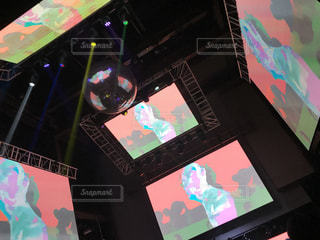 クラブの映像の写真・画像素材[740683]