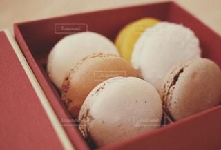 料理の種類でいっぱいのボックスの写真・画像素材[986321]