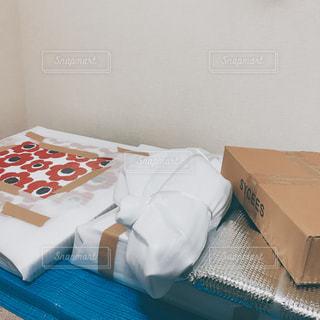 引越しの荷造りの写真・画像素材[1001984]