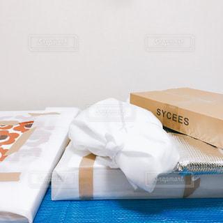 引越しの荷造りの写真・画像素材[1001985]
