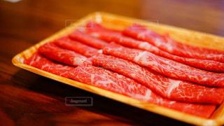すき焼き用高級肉の写真・画像素材[1652598]