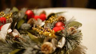 クリスマスリースの写真・画像素材[1664326]