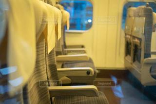 新幹線のシートの写真・画像素材[2469742]