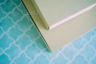 青い壁のクローズアップの写真・画像素材[3313446]