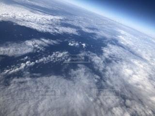 飛行機からの空の写真・画像素材[2201333]