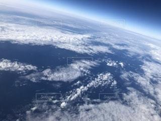 飛行機からの空の写真・画像素材[2201336]