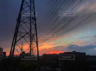 夕焼けの写真・画像素材[2202032]