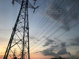 鉄塔と空の写真・画像素材[2202152]