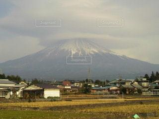 富士山と雲の写真・画像素材[2203819]